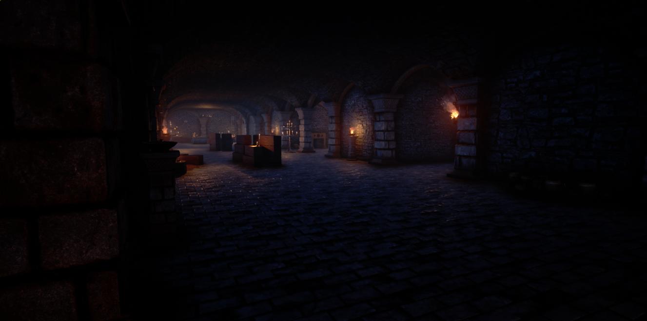 Underground Tomb Burial Area