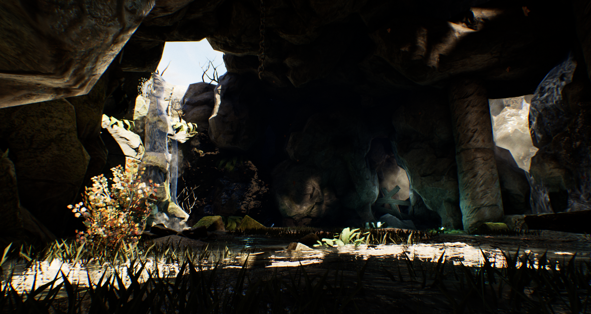 Underground Cave Start Area